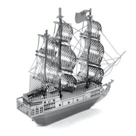 металлический 3д конструктор корабля из пиратов карибского моря