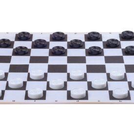 розкладена складна шахова дошка