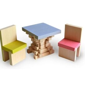 деревянный конструктор кукольная мебель