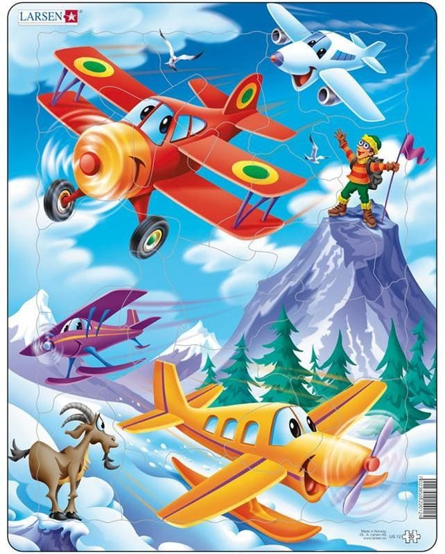 Пазл для детей Larsen самолетики