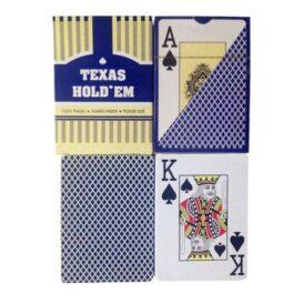 Карти для покеру Texas Hold'em (синие)2