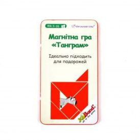 Магнитная дорожная игра танграм