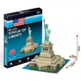картонний 3d конструктор статуя свободи