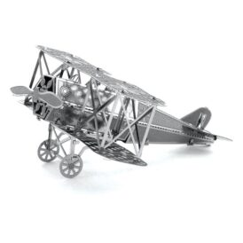 Металлический 3D-пазл Самолет Fokker D.VII