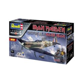 Конструктор Revell Истребитель Спитфайр Mk.II Aces High Iron Maiden (115 деталей) (1)