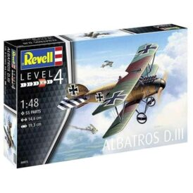 Конструктор Revell Німецький біплан Альбатрос D.III (54 деталі) (7)
