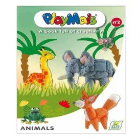 Креативна книга - інструкція кукурудзяного конструктора Тваринки №2 Play Mais