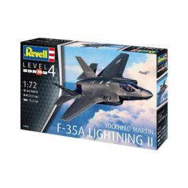 Revell Винищувач-бомбардувальник F-35 Блискавка II (84 деталі) (1)