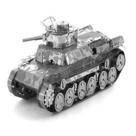 Металлический 3D-пазл конструктор Chi Ha Tank 97 3DJS069 (1)