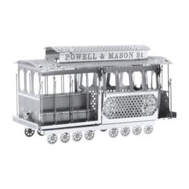 Металевий  3D-пазл Перший трамвай 3DJS020 (1)