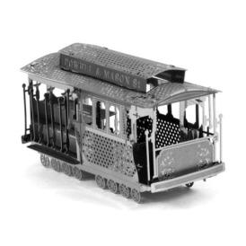 Металевий  3D-пазл Перший трамвай 3DJS020 (2)