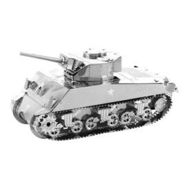 Металлический 3D-пазл Sherman Tank 3DJS070 (1)