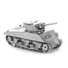Металлический 3D-пазл Sherman Tank 3DJS070 (2)