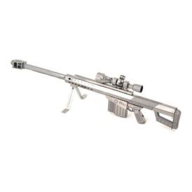 Металлический 3D-пазл Винтовка Barrett M82 (1)