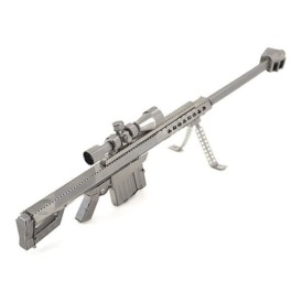 Металлический 3D-пазл Винтовка Barrett M82 (2)