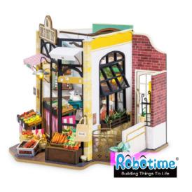 Міні-інтер'єрна модель ручної роботи Robotime Фруктова крамниця (2)