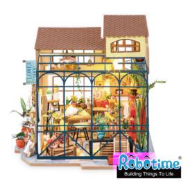 Міні-інтер'єрна модель ручної роботи Robotime Крамниця квітів (DG145) (1)