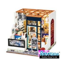 Мини-интерьерная модель ручной работы Robotime Пекарня DG143_ (1)