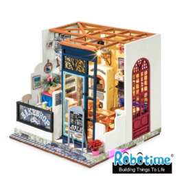 Мини-интерьерная модель ручной работы Robotime Пекарня DG143_ (3)