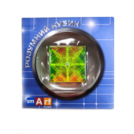 Smart Cube 2х2 Transparent Кубик 2х2 прозорый  (2)