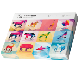 Пазл BeBetter Puzzle Animals (500 деталей)1