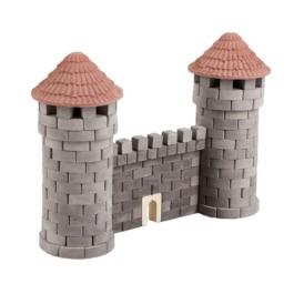Керамический конструктор серого цвета Две башни (серые) (1)