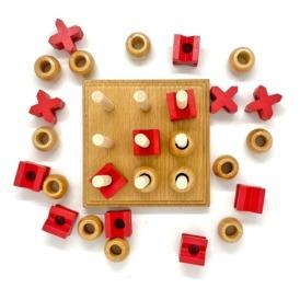 Настольная игра 3D Крестики-Нолики (2)