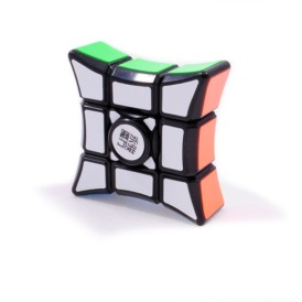 YJ 1x1x3 Spinning King Corner black Кубоид спиннер черный пластик (1)