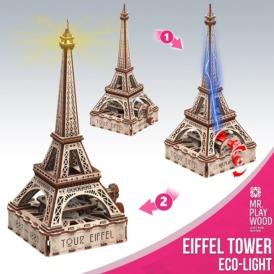 Эйфелева башня Эко-лайт (163 деталей) 10205 (3)