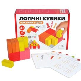Логические кубики Игротеко Части и целое, 900460 (7)