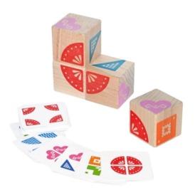 Логические кубики Игротеко Сложи узор, 900477 (2)