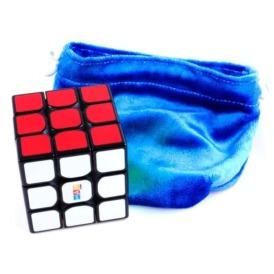 Чехол для кубика велюровый синий