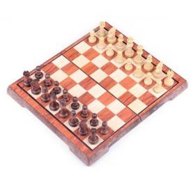 Набор складных магнитных шахмат с фигурами (36х31 см)1