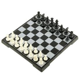 Магнитный набор 3 в 1 шашки, шахматы, нарды (25х25 см)1