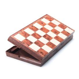 Магнитный набор 2 в 1 шашки и шахматы (31х31 см)1