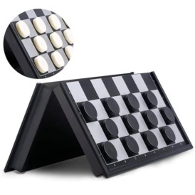 Магнитный набор 3 в 1 шашки, шахматы, нарды (36х36 см)3