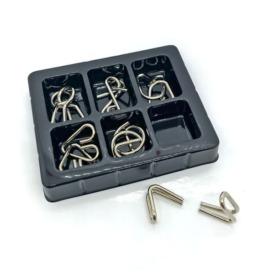 Набор из 6 металлических головоломок Kaisiqi (2)