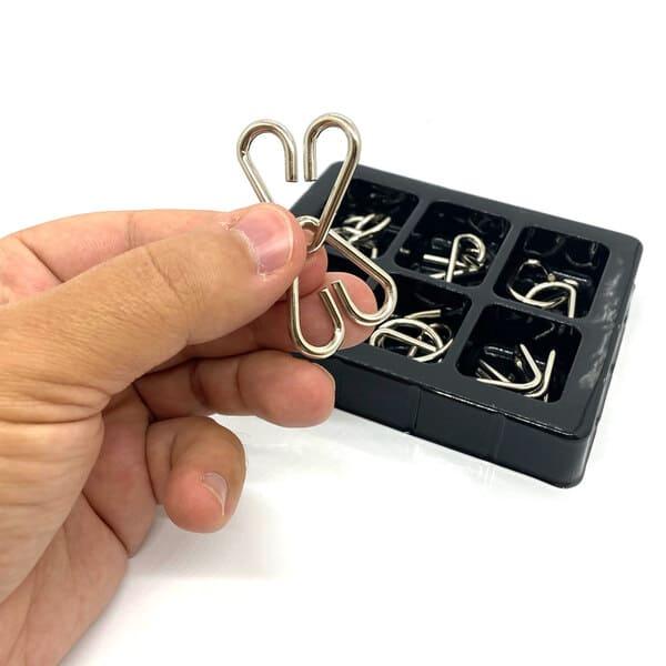 Набор из 6 металлических головоломок Kaisiqi (3)
