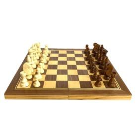 Набор шахматы, шашки, нарды 3 в 1 (48 см) (2)