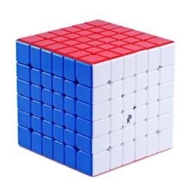 Магнитный кубик Рубика 6х6 YJ MGC stickerless цветной