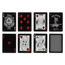 Игральные карты для покера Bee Silver Stinger2