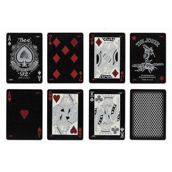 Гральні карти для покеру Bee Silver Stinger2