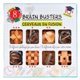 Набор из 8 головоломок Eureka 3D Puzzle Brain Busters
