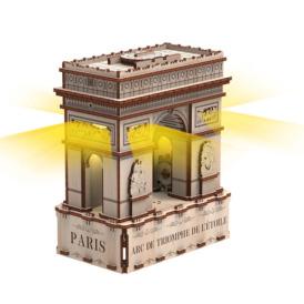 3D конструктор Mr. Playwood Тріумфальна арка Еко-лайт (180 деталей)1