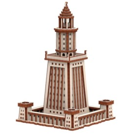 3D конструктор Mr. Playwood Александрійський Маяк (169 деталей)1