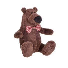 Мягкая игрушка Same Toy Полярный мишка коричневый3