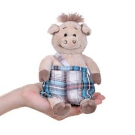 Мягкая игрушка Same Toy Поросенок в комбинезоне 3