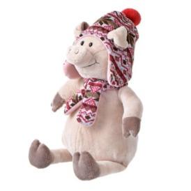 Мягкая игрушка Same Toy Поросенок в шляпе 1