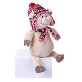 Мягкая игрушка Same Toy Поросенок в шляпе 3