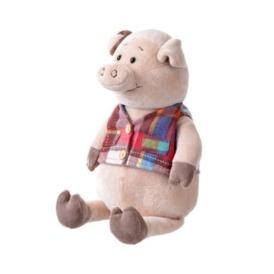 Мягкая игрушка Same Toy Поросенок в жилетке 3